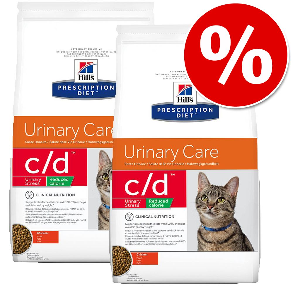 Ekonomipack: Hill's Prescription Diet Feline - Feline k/d (2 x 5 kg)