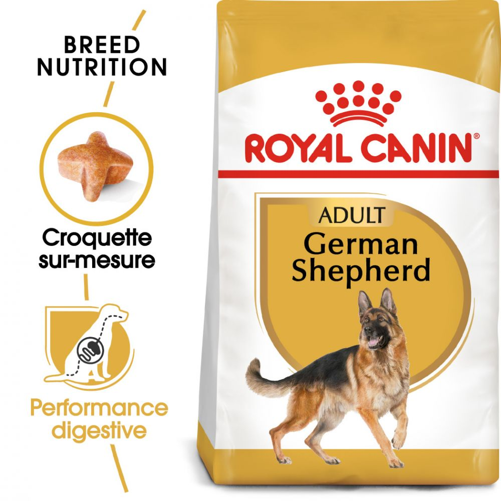 2x11kg Berger Allemand German Shepherd Adult Royal Canin Breed - Croquettes pour chien