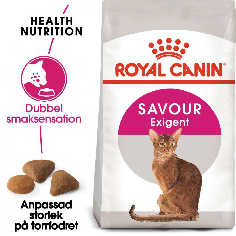 Royal Canin Savour Exigent - 10 kg + 2 kg på köpet!