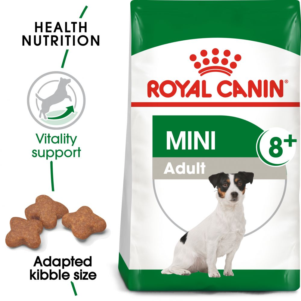 Mini Adult 8+ Royal Canin Dry Dog Food
