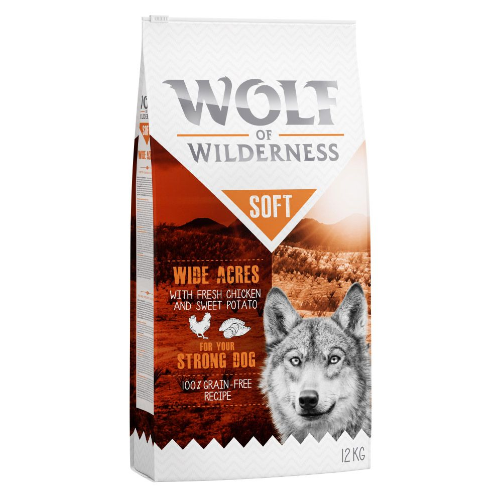 Adult Chicken Soft Wolf of Wilderness Dry Dog Food