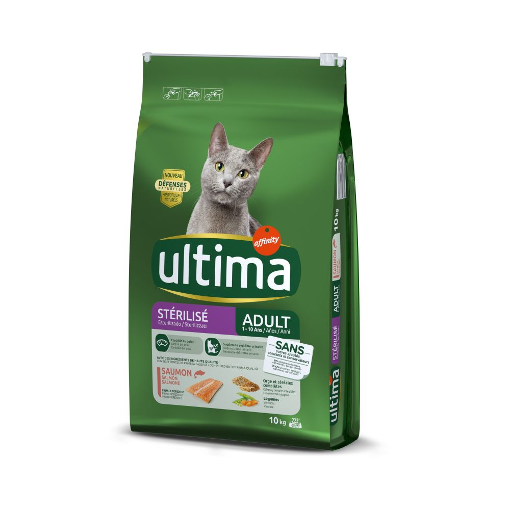 Ultima Cat Sterilized Salmon & Barley 10 kg
