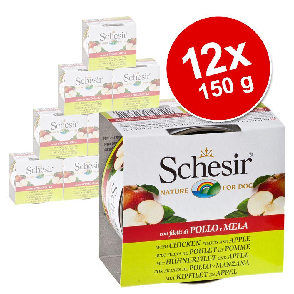 Sparpaket Schesir Fruit 12 x 150 g - Huhn mit A...