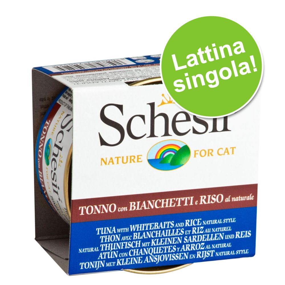 Image of Schesir in Acqua di cottura 1 x 85 g - Tonnetto con filetti di Manzo