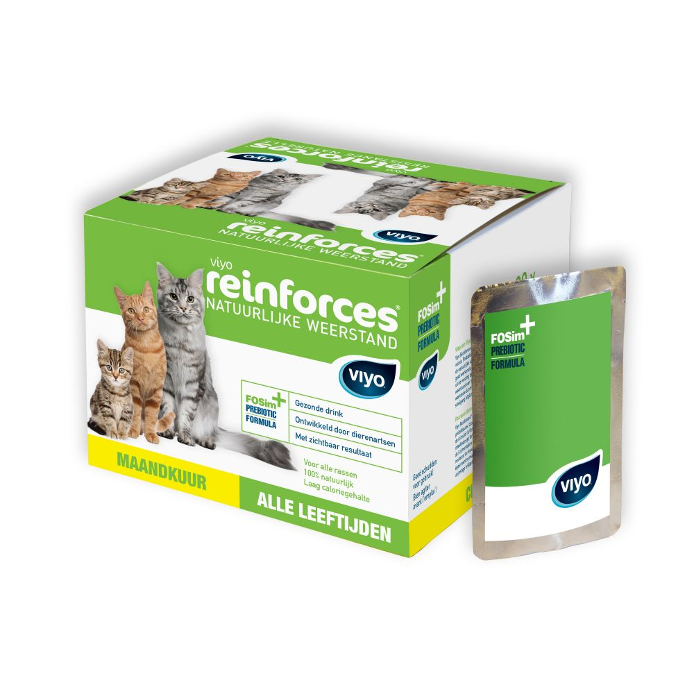 Viyo Reinforces 30 x 30 ml - pour chat