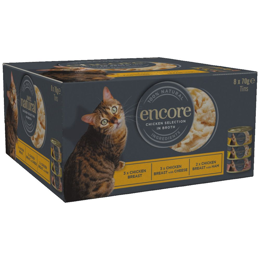 Fish Selection Multipack Cat Tin Encore Wet Cat Food