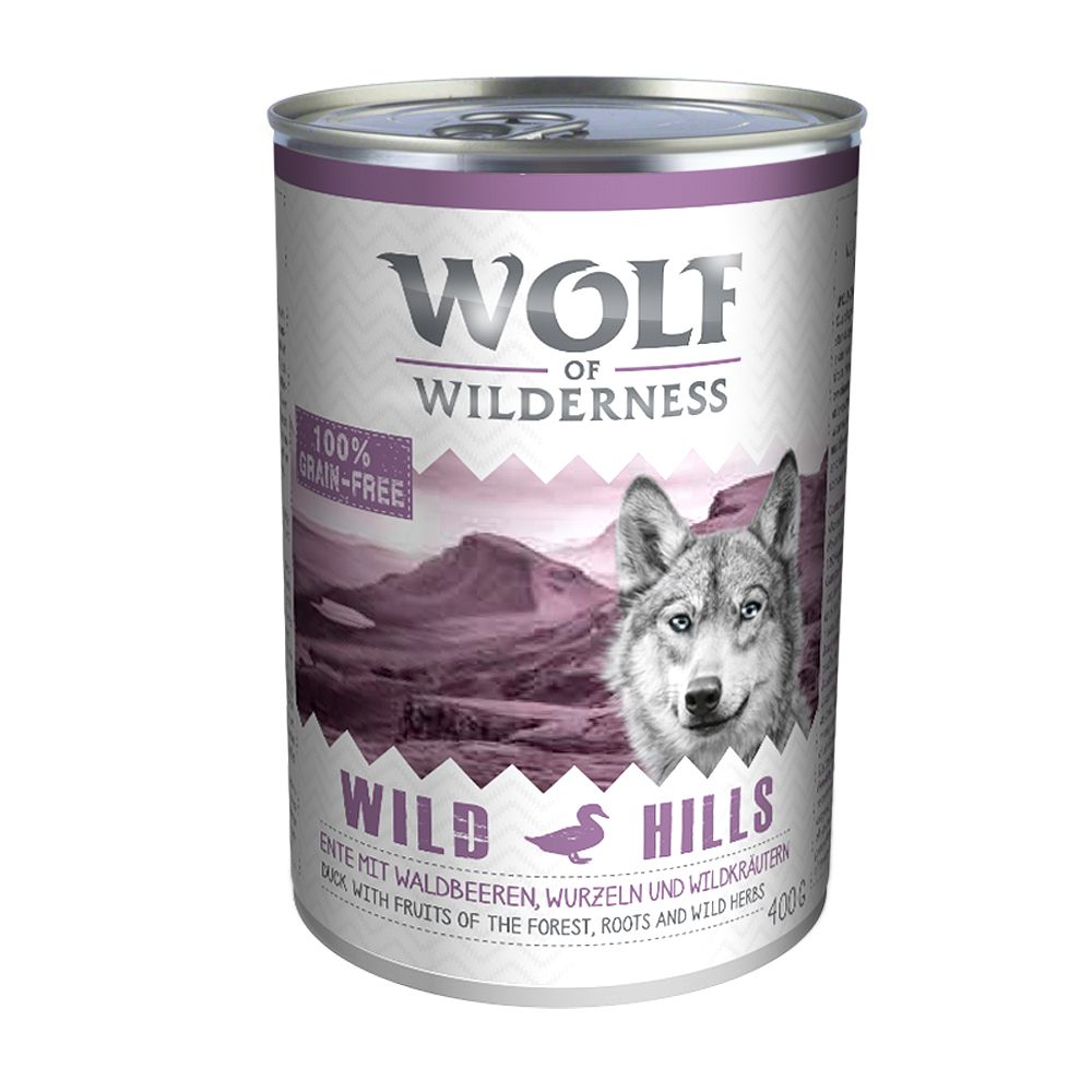Wolf of Wilderness Adult Saver Pack 12 x 400g - Arctic Spirit - Reindeer