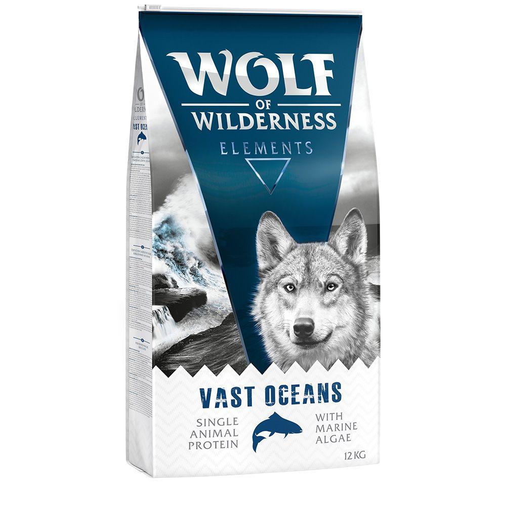 2x12kg Wolf of Wilderness Elements Vast Oceans, poisson - Croquettes pour chien