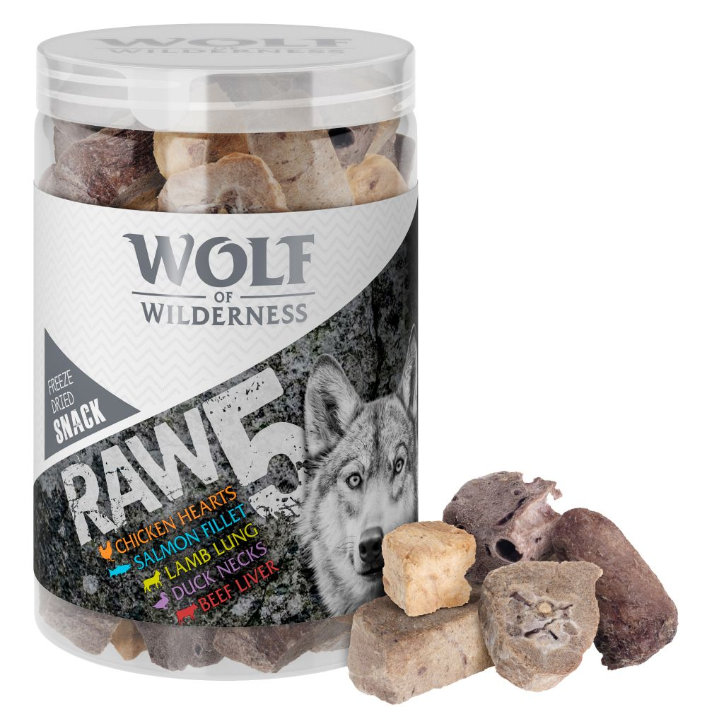 150g Wolf of Wilderness RAW 5 Mix Snacks