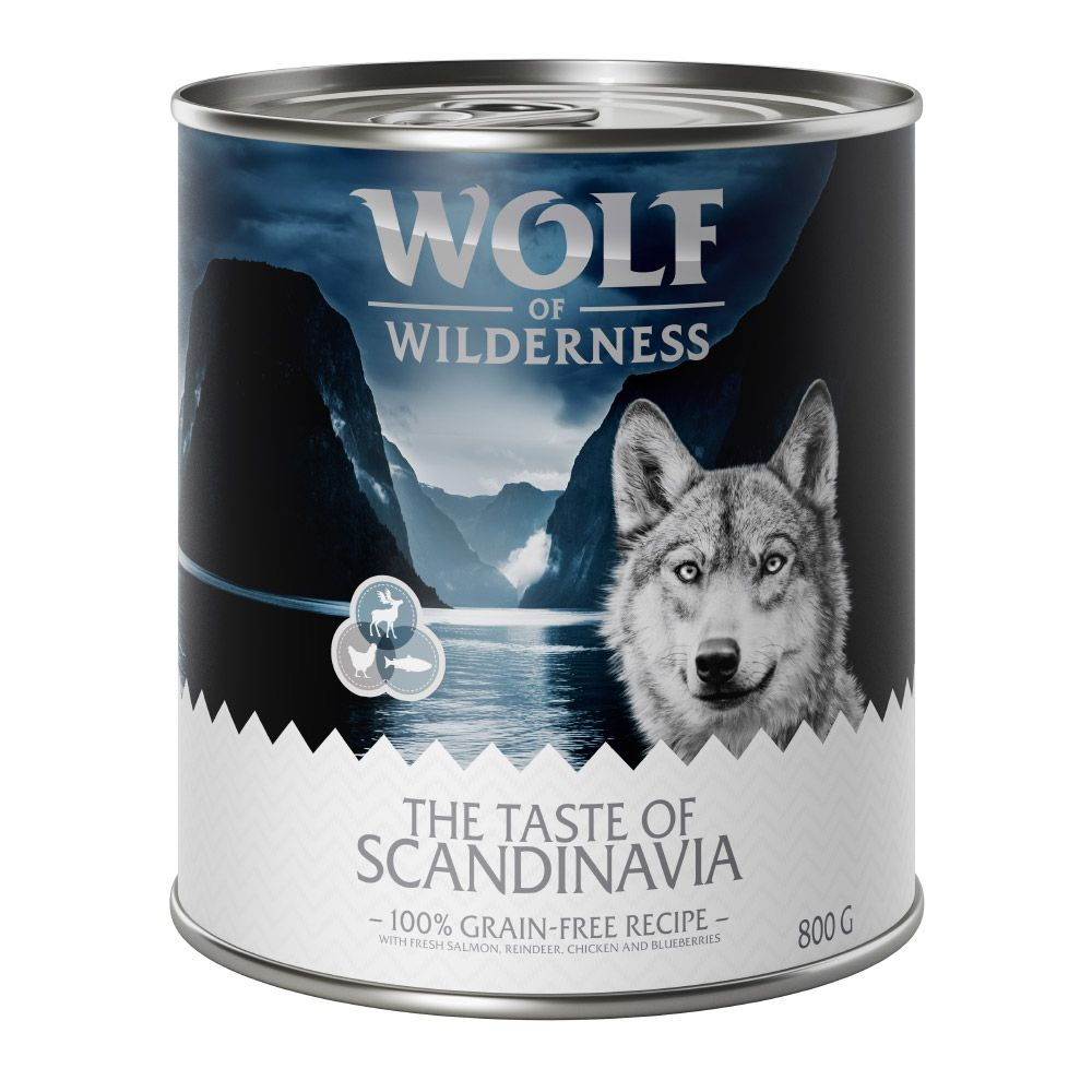 Adult Beef The Taste of Wolf of Wilderness Wet Dog Food
