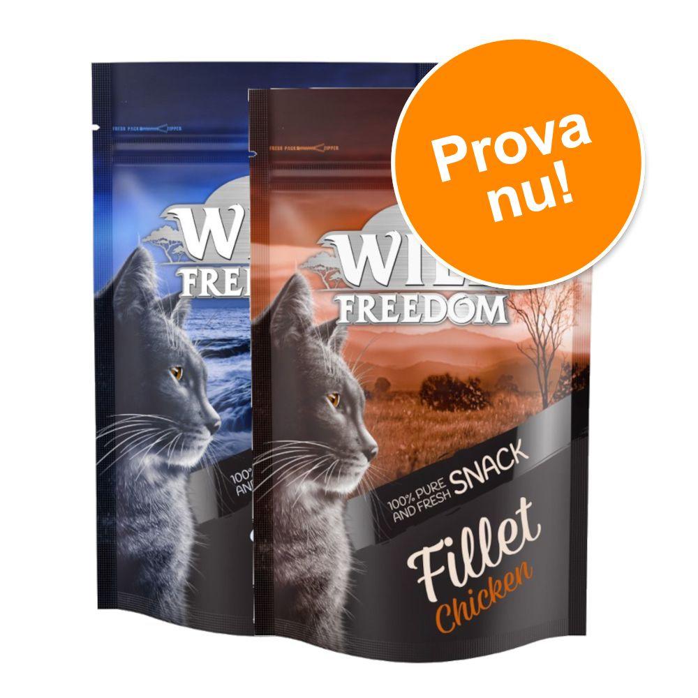 Provpack: Wild Freedom Filets 2 x 100 g - Chicken + Tuna