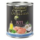 zooplus Selection Junior Turkey - Saver Pack: 24 x 400g