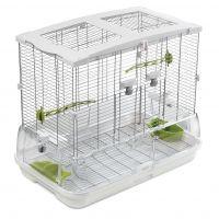 Hagen Vision II Bird Cage Model M01 - white MO1: 62 x 38 x 53 cm (L x W x H)