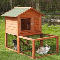 Outback Special Hutch with Run - Hutch & Run: 96 x 79 x 120 cm (L x W x H)