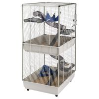 Ferplast Ferret Cage Furet Tower - Grey: 80 x 75 x 161 cm (L x W x H)