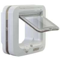 SureFlap Microchip Cat Flap - Adaptor for Installation in Windows (White)
