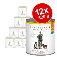 Defu Organic Sensitive Saver Pack 12 x 820g - Sensitive Turkey