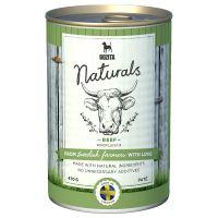 6 x 625g Bozita Naturals Pate Wet Dog Food - Special Price!* - Beef (6 x 625g)