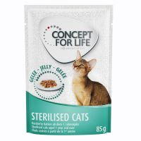 Concept for Life Sterilised Cats in Jelly - 48 x 85g