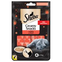 Sheba Creamy Snacks Saver Pack 20 x 12g - Salmon
