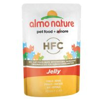 Image of Almo Nature HFC Jelly Pouch 6 x 55 g - Huhn