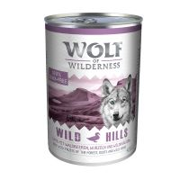 Wolf of Wilderness Adult Saver Pack 12 x 400g - Green Fields - Lamb