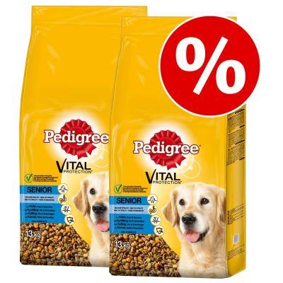 18 kg + 8 kg kaupan päälle! 26 kg Pedigree Senior koiranruoka - Senior 8+