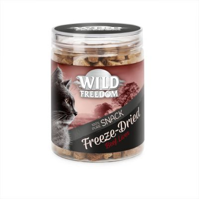 Wild Freedom Freeze-Dried Snacks Runderlever