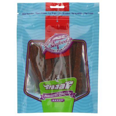 Braaaf tiras de pescado para perros - 2 x 70 g - Pack Ahorro