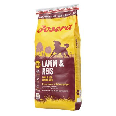 Josera Lamb & Rice - 4,5 kg (5 x 900 g)