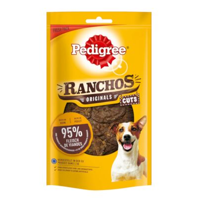 Pedigree Ranchos Original Cuts 65 g - 6 x nauta