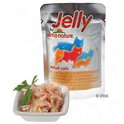 Almo Nature Jelly i portionspåsar 6 x 70 g – Tonfisk