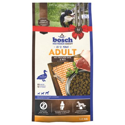 bosch Adult Duck & Rice - säästöpakkaus: 2 x 15 kg