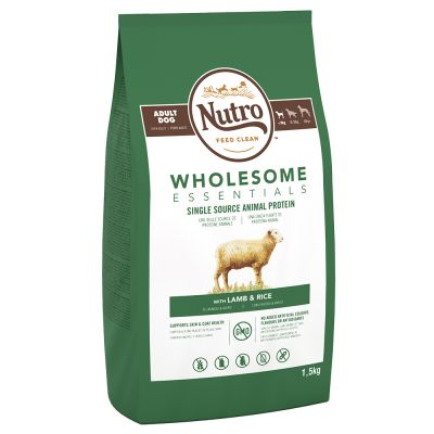 Nutro Wholesome Essentials Small Breed Lamb & Rice - 3 x 1,5 kg