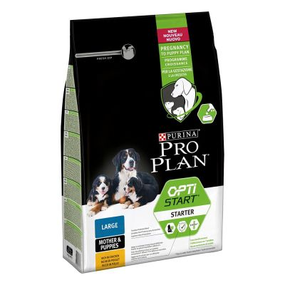 PRO PLAN OptiStart Large Mother & Puppies Rich in Chicken - säästöpakkaus: 3 x 3 kg