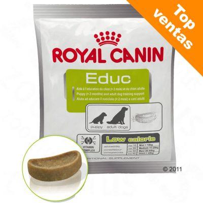 Royal Canin Educ snack de adiestramiento para perros - 4 x 50 g - Pack Ahorro