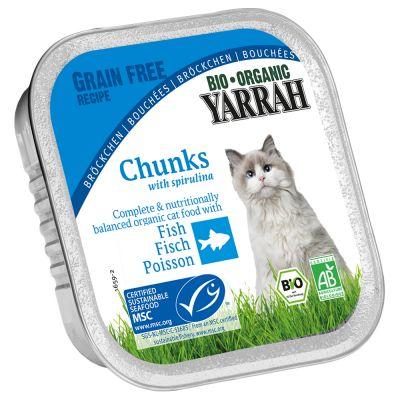 Yarrah Bio Bucatele în Sos 6 X 100 G Tavite - Pes