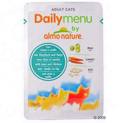 Almo Nature Daily Menu 6 x 70 g – Kyckling och nötkött