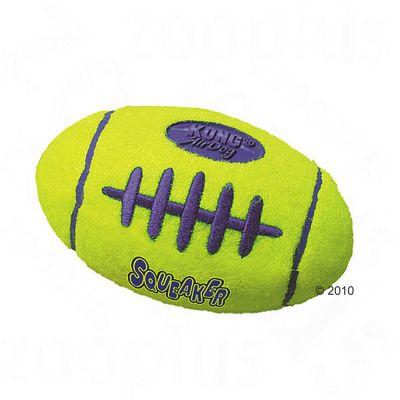 Kong Airdog Football med pipljud – Large: 19 cm x 10 cm