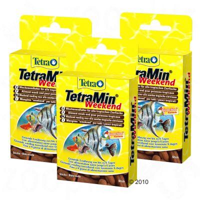 Obraz przedstawiający 3 x TetraMin Weekend, weekendowa karma dla ryb - 3 x 20 szt.