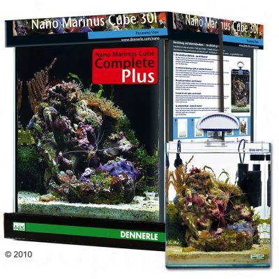Dennerle Nano Marinus Cube Complete PLUS 30 liter – L 30 x B 30 x H 35 cm