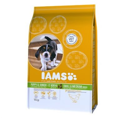Foto Iams Proactive Health Puppy & Junior Small & Medium - 2 x 12 kg - prezzo top! Iams Puppy