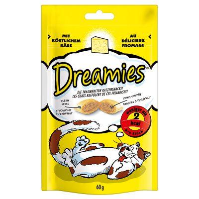 Catit Design Senses Futter Labyrinth - passender Snack: Katzensnack Dreamies Käse 60 g