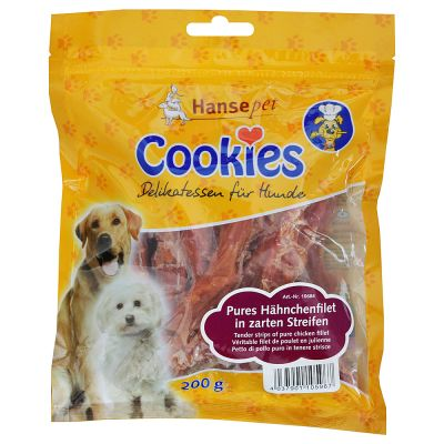 Cookie's Snacks Chicken Fillet for Large Breeds