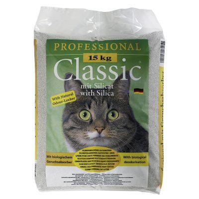 Professional Classic Żwirek z pochłaniaczem zapachów - 15 kg