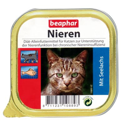Beaphar Dieta na nerki - Kaczka, 12 x 100 g