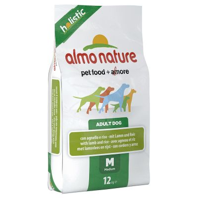 almo-nature-adult-medium-lam-ris-okonomipakke-2-x-12-kg