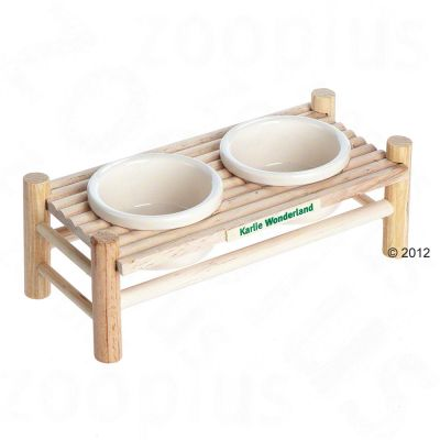Wonderland matbord – Mått: 24 cm x 10 cm x 8,5 cm