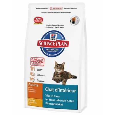 Hill's Science Plan Adult Indoor Cat – 1,5 kg