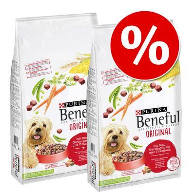 Beneful-säästöpakkaus 2 x 12 kg - Playful Life 7+ (2 x 12 kg)